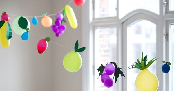 fruit garland party deco fiesta