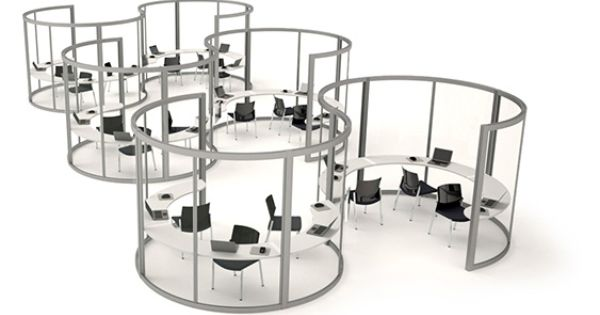 Versatile screens for teams or break out areas moving for Office design yorkshire