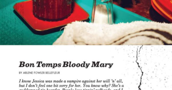 Beach drink recipes, True blood and Bon temps on Pinterest