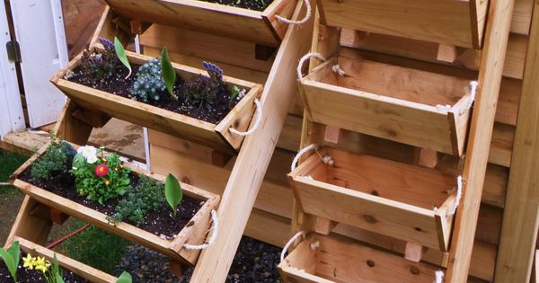 Although I have a decent sized traditional garden I love this idea! #raisedgarden # ...
