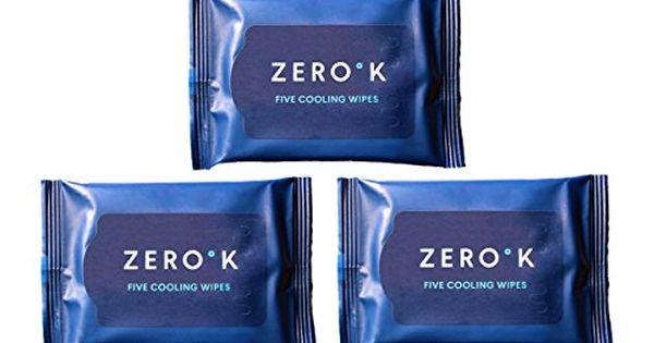 Zero K Cooling Wipes 3 Packs 15 Wipes Zero K Https Www