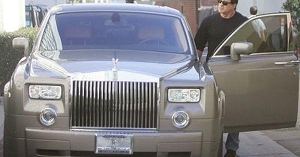 Sylvester stallone rolls royce phantom celebrity cars for Garage volkswagen munster