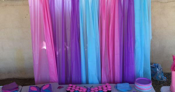 Butterfly Party Backdrop Butterfly Party Pinterest