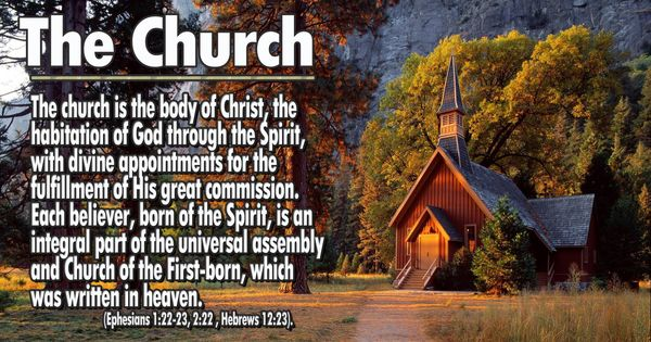 Statements Of Faith  The Church The Church Is The Body Of
