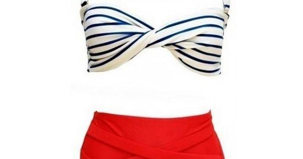 Mode, tendance, fashion, plage, été, corps, maillot de bain ...