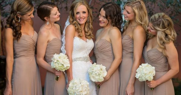 Neutral bridesmaids dresses Rosemary Beach Wedding | It's a Shore Thing Wedding