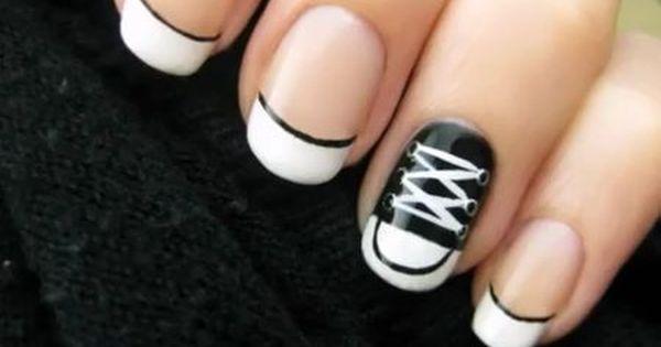 Converse Shoe Nail Polish Converse Shoe Finger Nails