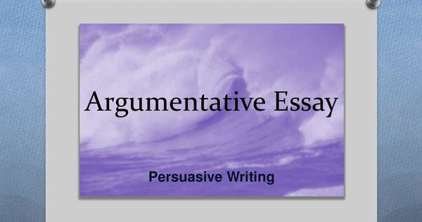 Help with argumentative essay vocabulary middle school