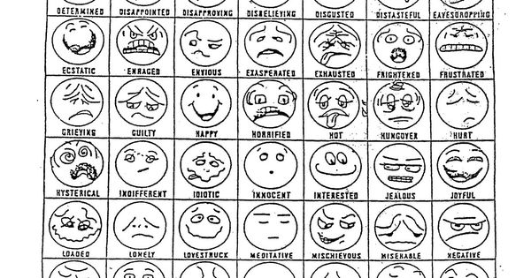 facial expressions coloring pages - facial expressions for preschooler time out teaching to