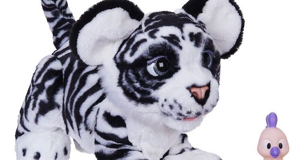 Furreal Roarin Ivory The Playful Tiger Pet With Images Fur
