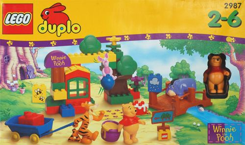Lego Duplo Winnie The Pooh 2987 Fun In Welcome To 100 Acre Wood Lego Duplo Quiet Time Boxes Winnie The Pooh