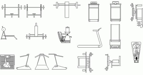 Gimnasio en planta arquitectonica google search for Arquitectura de interiores pdf