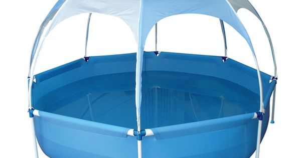 Aurora 8 Sided Kids Pool Shaded With Cover 95 From Bunnings Gardening Around The House
