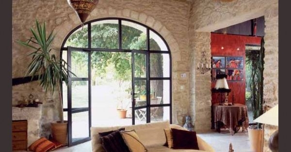 5 portes de grange r invent es avec intelligence for Porte vitree 73