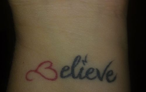 Small Ankle Tattoo Designs | believe tattoo 100 Tattoo Ideas You Should