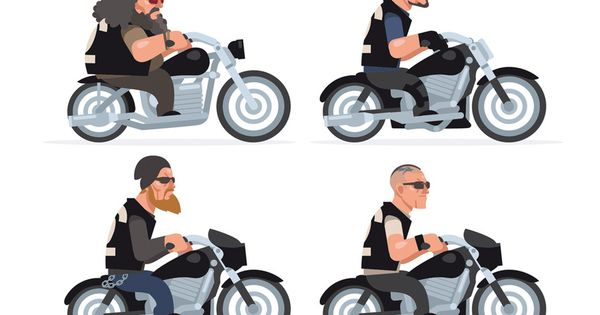 Sons Of Anarchy // Clay // Jax // Bobby // Tig //