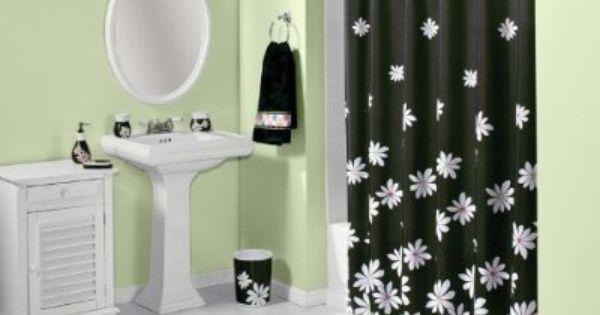 50 off josie bath coordinate fun black and white for Bright coloured bathroom accessories