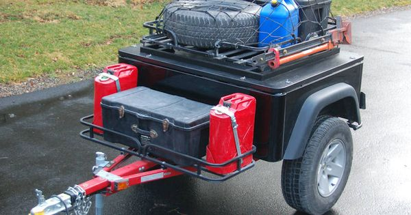 Homemade Off-Road Trailers | Both models are designed to handle the tasks