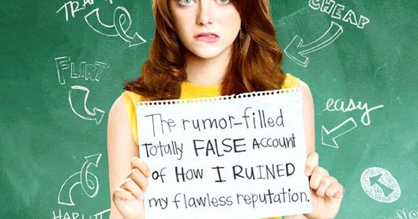 Easy A I want my life to be any 80's movie too/