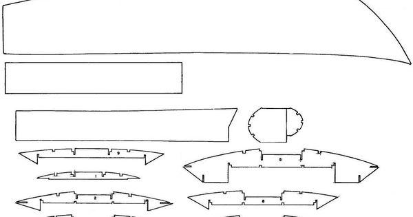 Model boat plans for Turbine Pay N' Pak hydroplane   speed boats   Pinterest   Model boat plans ...