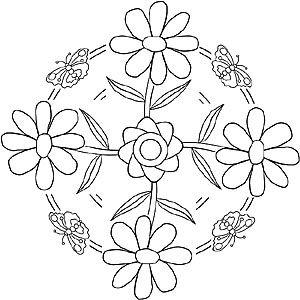 Natur Und Jahreszeiten Mandalas Zum Ausdrucken Ausmalbilder Malvorlagen Malvorlagen Zum Ausdrucken