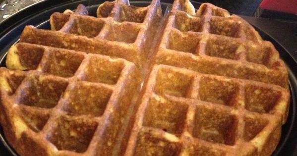 Whole Grain Yogurt Waffles | eatniks | Breakfast | Pinterest | Waffle ...