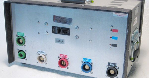 Ac Power Cf150dc 1a Main Disconnect 150 Amp Distrio Box For Camlock Cable Ac Power Power Audio Mixer
