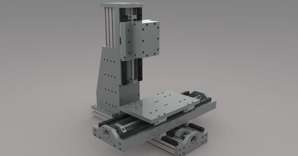 Diy Cnc Mill Rf45 Style Milling Machines Pinterest