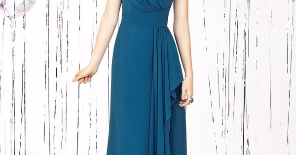 Social Bridesmaids Style 8119 blue bridesmaid dress (different color, obvs)