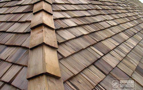 Cedar Shake Roof Corner Cedar Shingle Roof Roof Shingles Metal Shake Roof