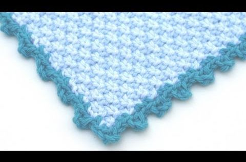 Edgings Knitting Stitches : Crochet for Knitters - Picot Edging Loom Knitting! Pinterest Stitches, ...