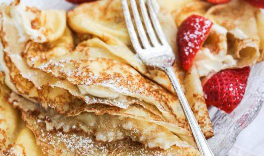 Sweet Cream Cheese Polish Pancakes