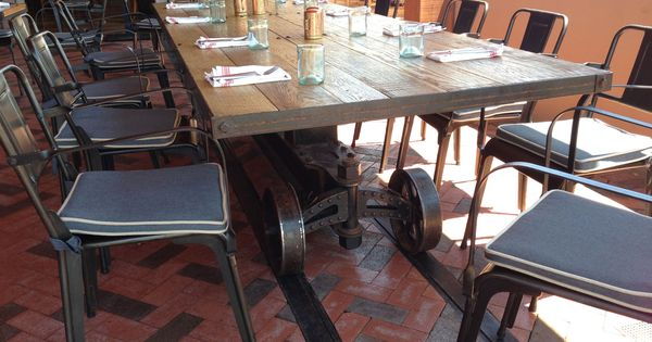 Train Table At The Four Seasons In Phoenix By Vintage