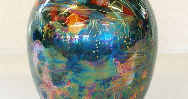 Fairy Dust Lustre Hive Delta Vase ᘻy Ꮳollections