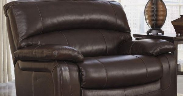 Big Man Reclining Chair Extra Wide Seat Ashley Leather