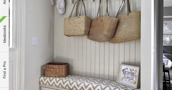 hall d 39 entr e banquette projets essayer pinterest entr e entr es et rangement. Black Bedroom Furniture Sets. Home Design Ideas