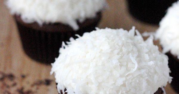 Chocolate Coconut Cupcakes desserts