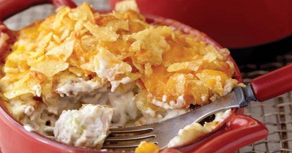 Crispy Pecan-Chicken Casserole ! ☀CQ casseroles quiche