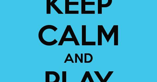 Keep Calm And Play Soccer Soccer Football Sports Qhd: Keep Calm And Play Soccer