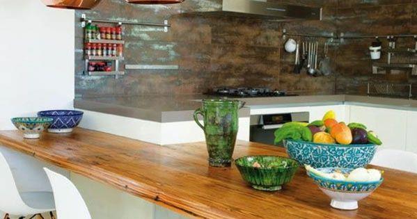 1 cuisine americaine amenagement petite cuisine avec table - Amenagement cuisine americaine ...
