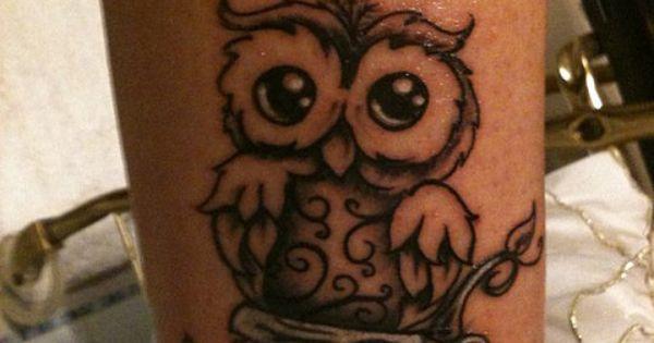 owl tattoo annie interest pinterest niedlich tattoos. Black Bedroom Furniture Sets. Home Design Ideas