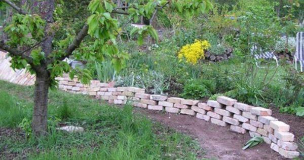 Aw Backsteine Als Trockenmauer Und Brunnen Wer Seite 1 Gartengestaltung Mein Schoner Garten Online Garten Trockenmauer Gartengestaltung