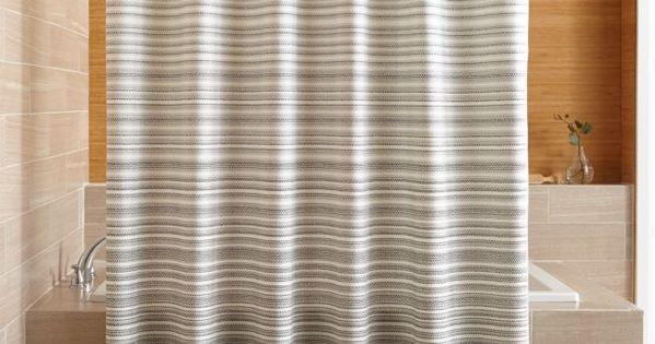 Estie Grey Print Shower Curtain Curtains Diy Bathroom Decor Shower