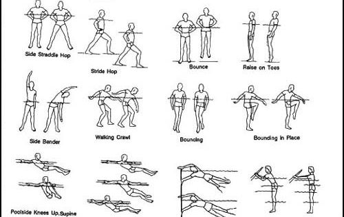 Total Body Aquatic Workout What To Do Aquatic Pinterest Workout Bodies And Physical Therapy