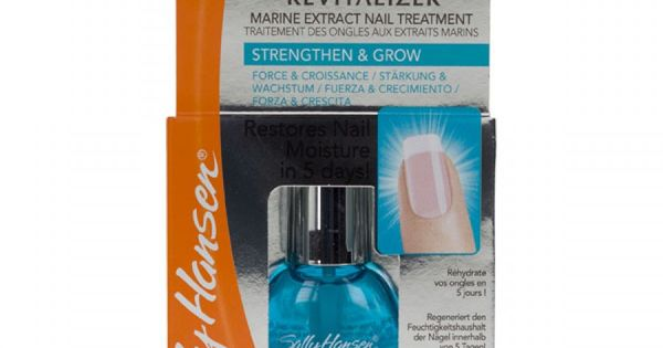 Nail treatment with Marine Active Complex Helps Restore minerals and ...
