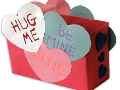 28 Valentine\'s Day Crafts for Kids | Heart, Crafts and Mailbox ideas