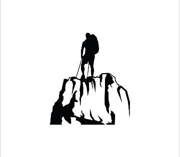 Rock Climbing Logo Design Vector Logo Icons Rock Icons Climbing Icons Png And Vector With Transparent Background For Free Download Logo Design Hiking Logo Tourism Logo