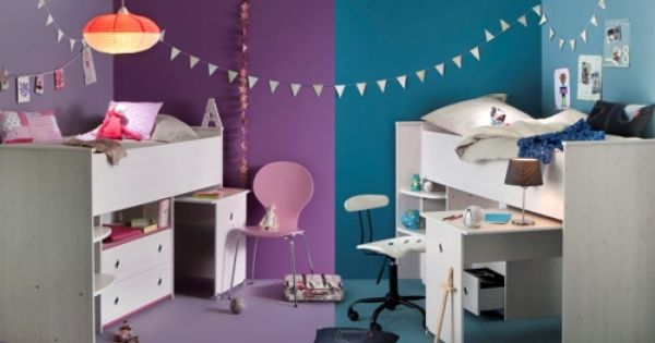 chambre enfant freres soeurs chambre de jumelles pinterest frere soeur fr re et chambre. Black Bedroom Furniture Sets. Home Design Ideas