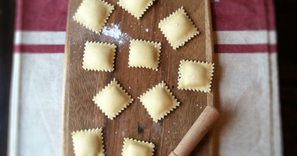 Another homemade ravioli recipe