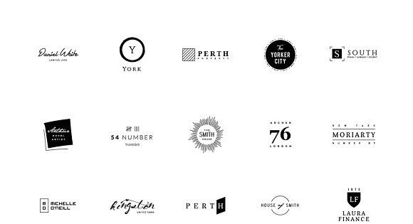 60 Minimalist Logos – simple and nice